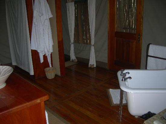 Royal Tree Lodge: Bathroom