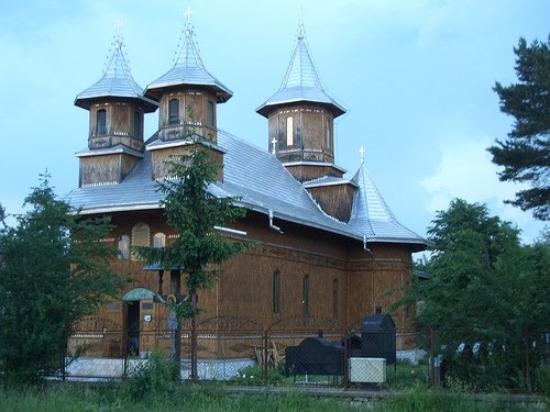 Fagaras, Rumania: Iglesia de Fágaras.