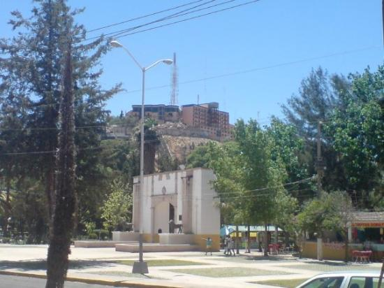 Parque Guadiana : entrada del parque