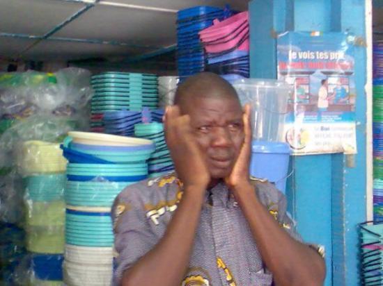 Abidjan, โกตดิวัวร์: Mahmoudo at OK Plast :D:D