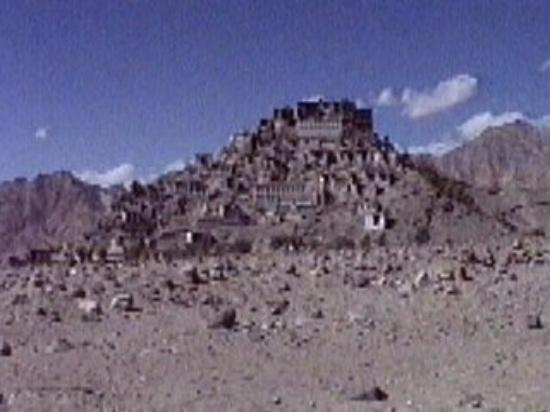 Thikse, near Leh, Ladakh, India