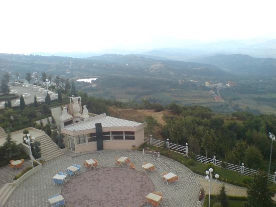 Dajti Park Hotel : the lower terrace