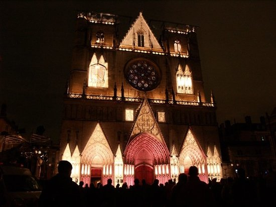 Vieux Lyon : St. John's Cathedral