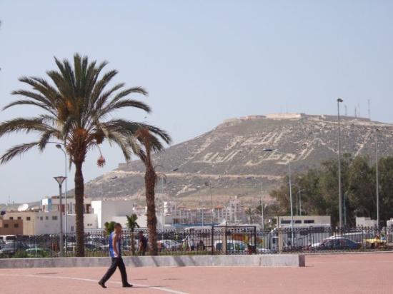 Agadir Beach: derrière la Kasbah, Maroc