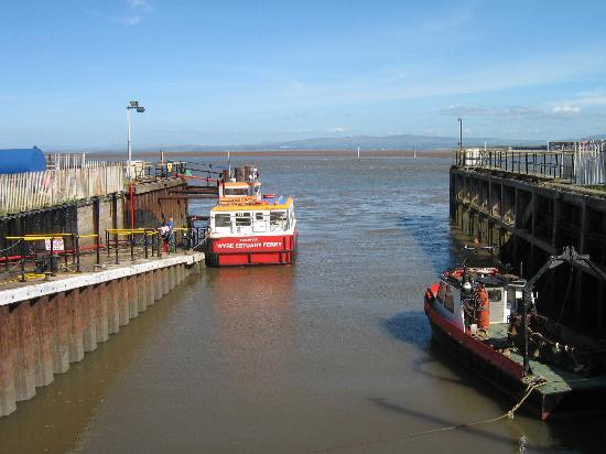 Knott End Ferry Fleetwood Lancashire Picture Of