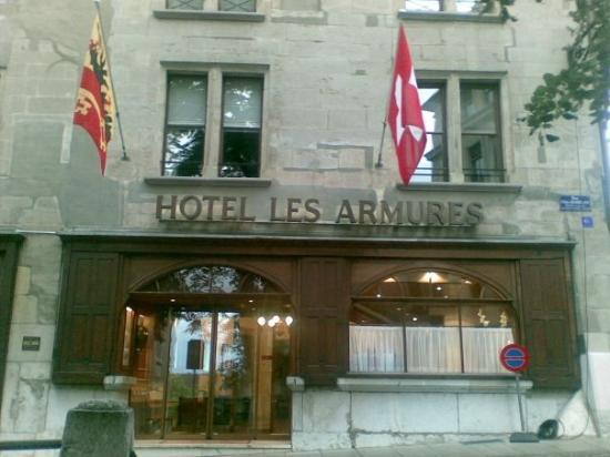 Hotel Les Armures Photo