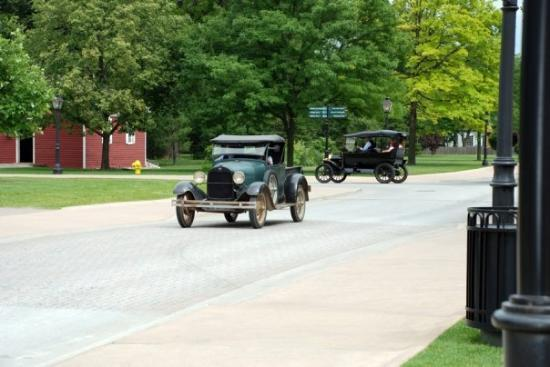driving the model t ford