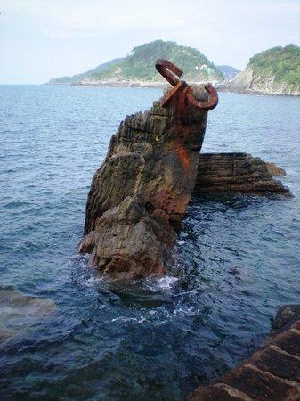 San Sebastián - Donostia, Spania: Peine del Viento de Eduardo Chillida, Donostia