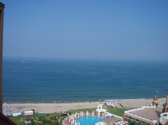 Howard Beach Resort Pacific Green Bay 翡翠灣 福華view