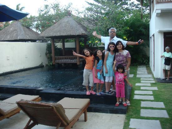 The Villa Pool Picture Of Bali Baliku Private Pool Villas Jimbaran Tripadvisor