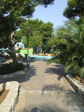 Porto Cesareo, Italia: Vicolo per la piscina