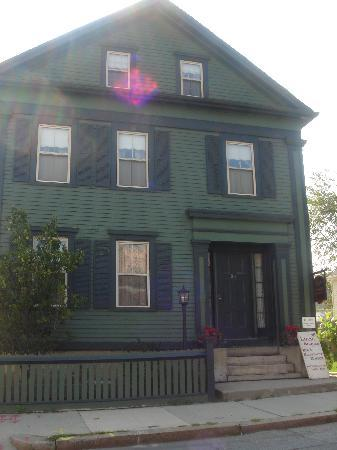 Fall River, MA: Exterior of house