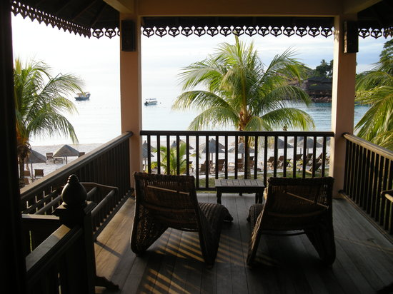 Laguna Redang Island Resort: vista dalla suite fantastica