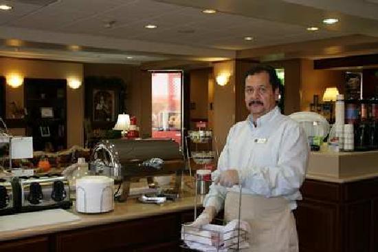 Hampton Inn Cheyenne: Great Breakfast