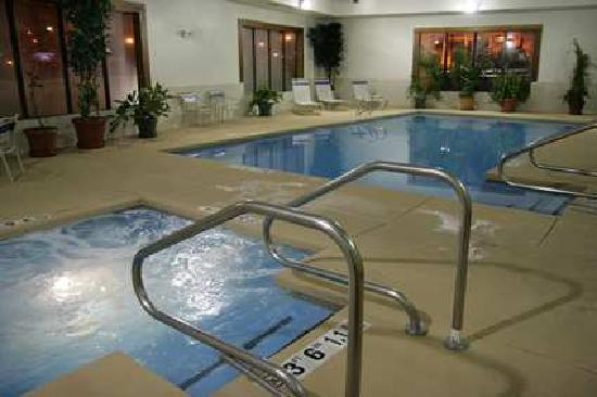 Hampton Inn Cheyenne: Indoor Pool