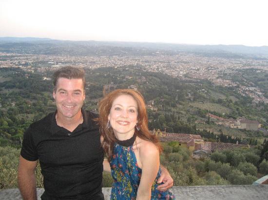 Relais Firenze Stibbert: Jonathan & Deb in Fiesole
