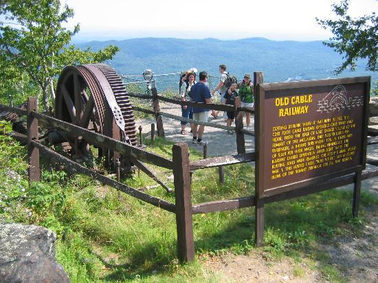 Prospect Mountain: old cable car