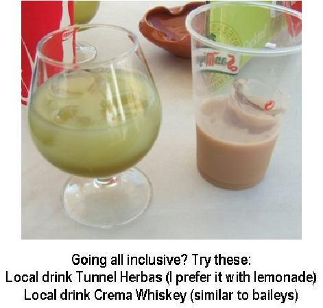 Barcelo Ponent Playa: Local drinks