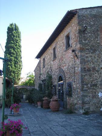 Bicycle Tuscany : Machiavelli House and Vineyard