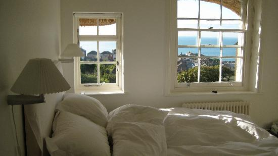 Hillside Hotel: view from our bedroom, No 10