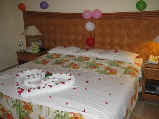 Perfect Punta Cana Princess All Suites Resort U0026 Spa: Room Decorated For My Wifeu0027s  Birthday.