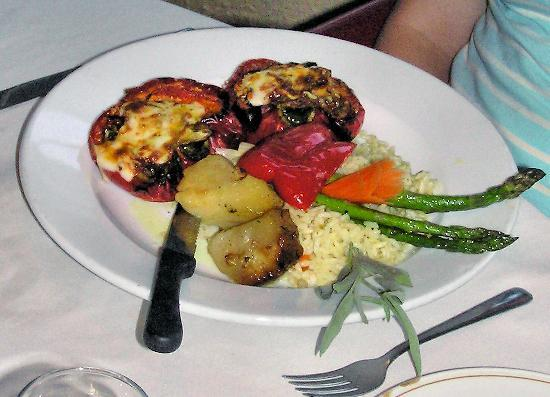 Chef Konstantine's at Harbour Inn : Red Peppers Konstantine fit for a Princess