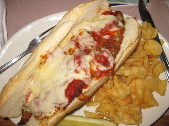 The Wellsboro House: Best veal parm