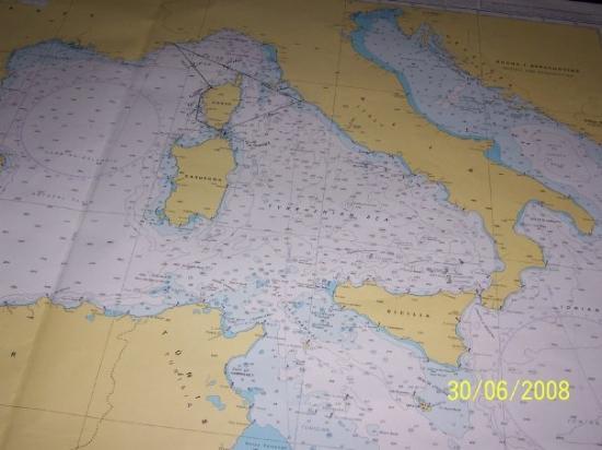 Cala di Volpe, อิตาลี: charts