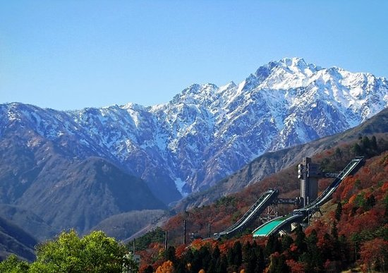 Hakuba-mura, Japão: HakubaThis is the ski-jump that was used during the Nagano Olympics