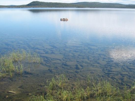 Inari, ฟินแลนด์: Aanaarjävri