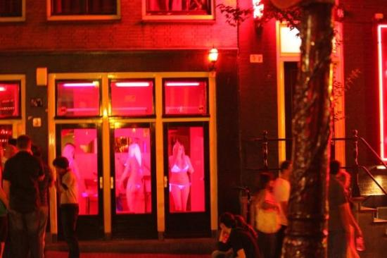 Red Light District - Picture of Red Light District, Amsterdam ...