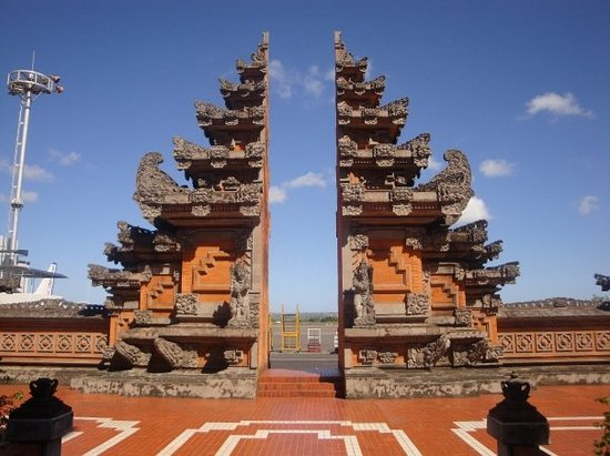 Kuta, Indonesië: hindu temple