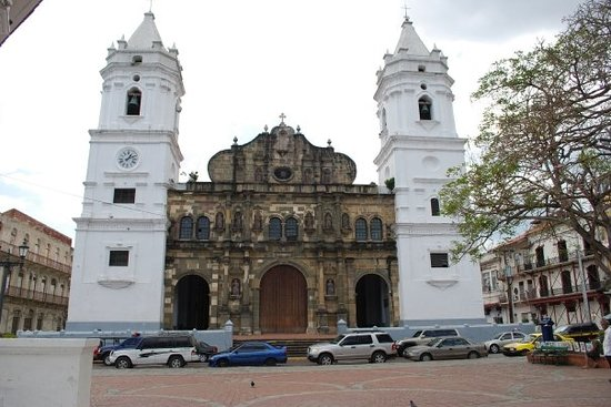 Cathedral at Old Panama