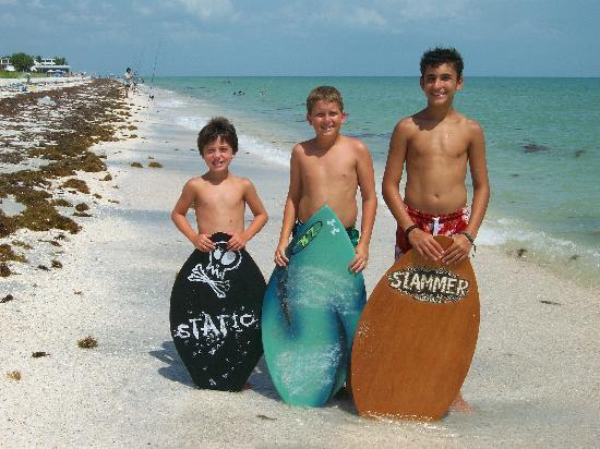 The beach boys! - Foto van Wat...