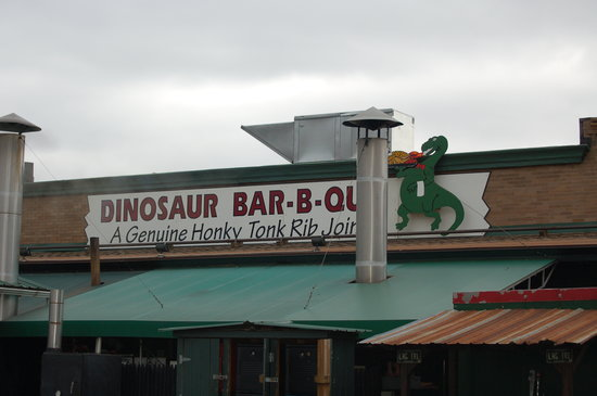Dinosaur Bar-B-Que  Outside