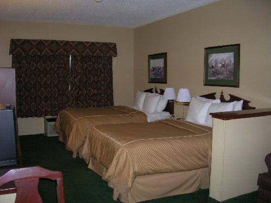 Comfort Suites Madison West: The beds!