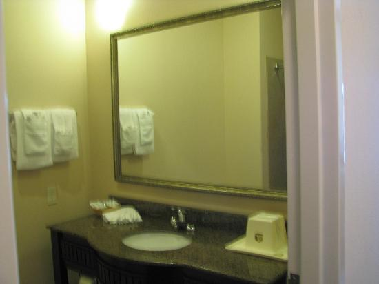 Best Western Red River Inn & Suites: Bath Sink