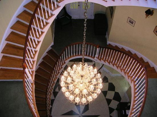 Christopher Place Resort: Stair Case