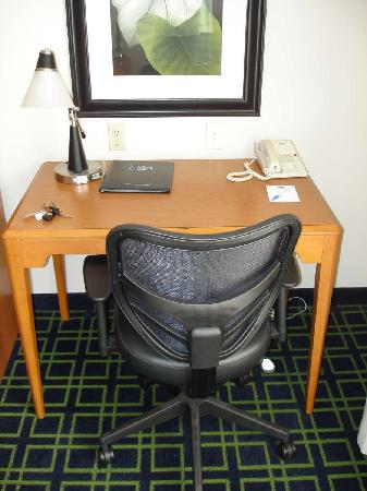 Fairfield Inn & Suites Helena : Sept 2009 - Work Area