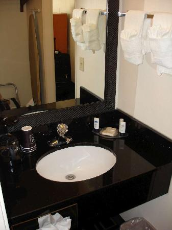 Fairfield Inn & Suites Helena : Sept 2009 - Sink area