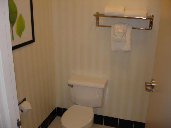 Fairfield Inn & Suites Helena: Sept 2009 - Water room