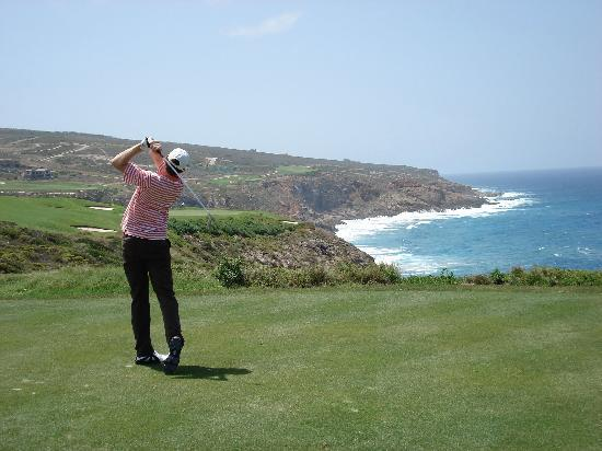 Pinnacle Point Estate: Joost at hole 9