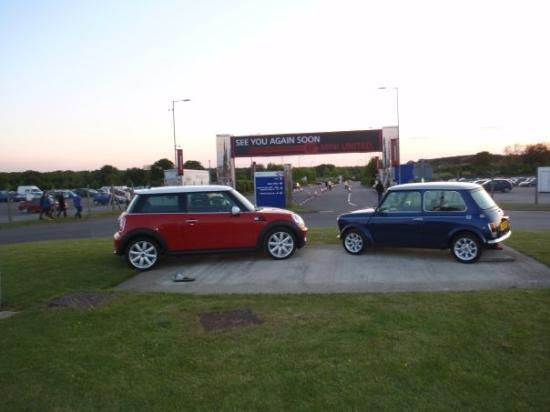 what a special trip, with 30 Minis to Silverstone for the 50th birthday