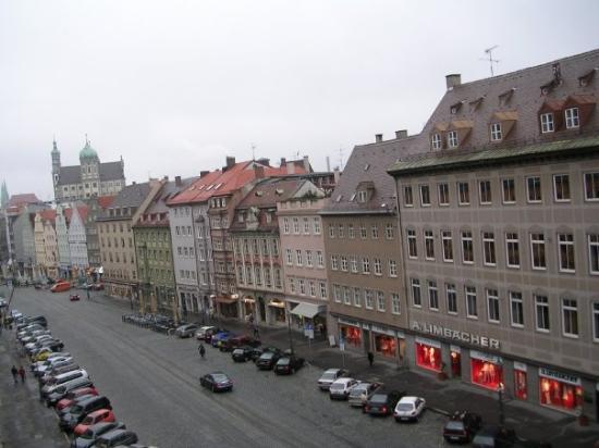 Maximilianstrasse In Augsburg  Bavaria  Germany