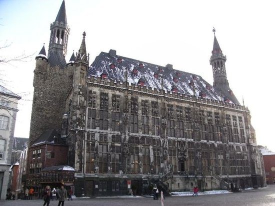 Aachener Rathaus Townhall Picture Of Rathaus Aachen City Hall