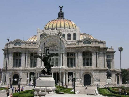 Palacio de Bellas Artes: Mexico 2008. Mexico City.  Arts Palace.