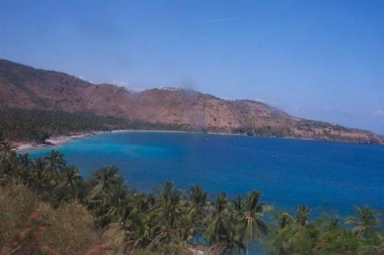 Mataram, Indonesien: Blu sea