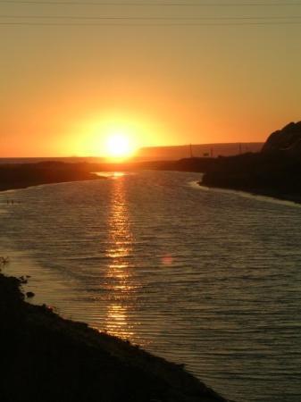 Playa de Zahara de los Atunes: La puesta en Zahara