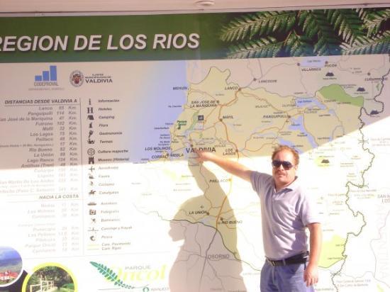 Talca, ชิลี: Vacacionando en Valdivia a 840 kms de santiago....fue agotado, manejar tanto, pero valio la pena