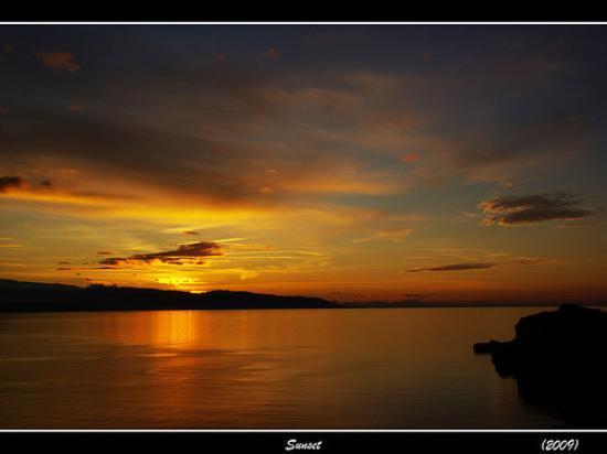 Milazzo, Ιταλία: Sunset
